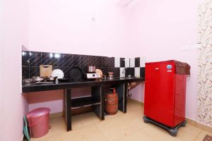 Private kitchen in the room at Morjim Sunset Guesthouse