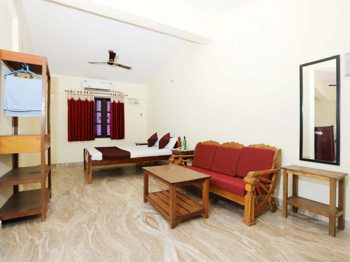 Hotel near Morjim beach Goa with private kitchen